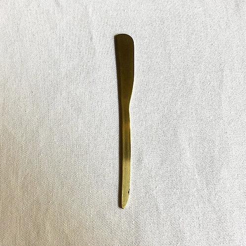 真鍮のバターナイフ