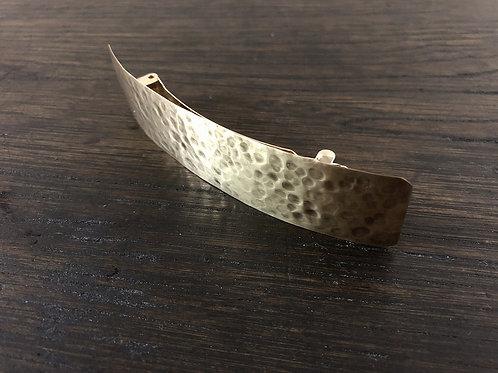 真鍮のバレッタ 01