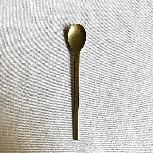 真鍮のスプーン