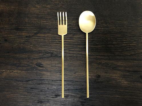 真鍮のスッカラS・ポクS セット