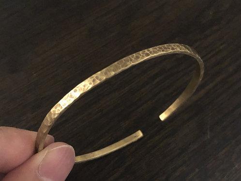 真鍮のバングル04 HT