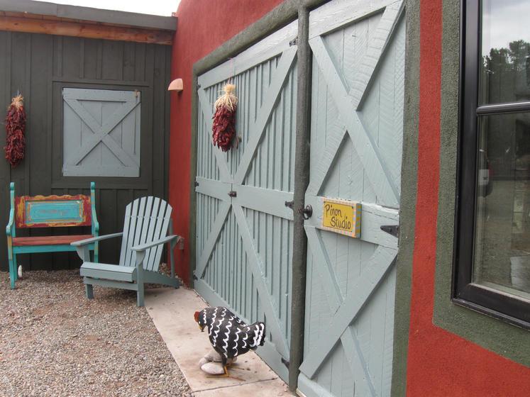 Pinon Studio entrance