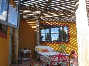 Canyon Cottage patio