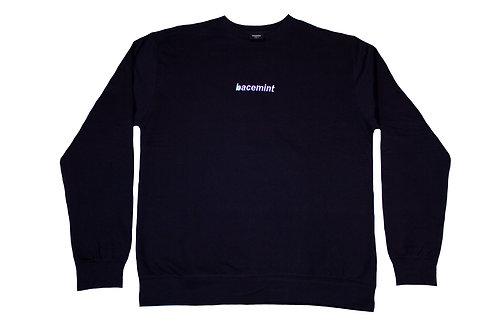 navy sweat-shirt