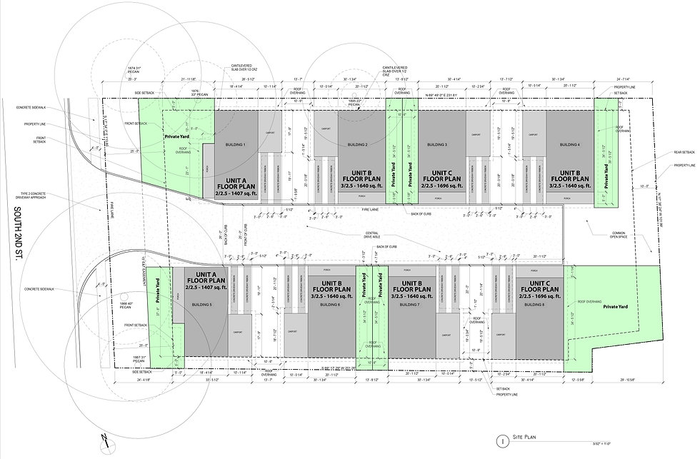2018_0502_South Second Street_Site Plan