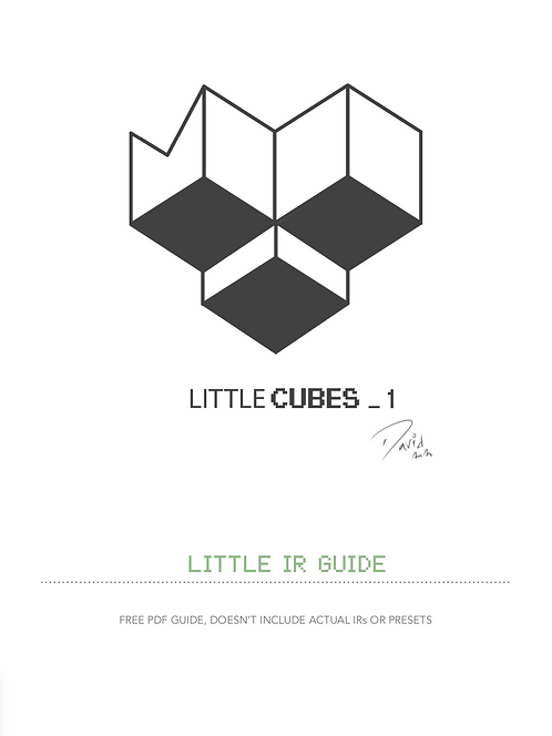 Little Cubes_1 - Free PDF / Coupon Code: FreePdf
