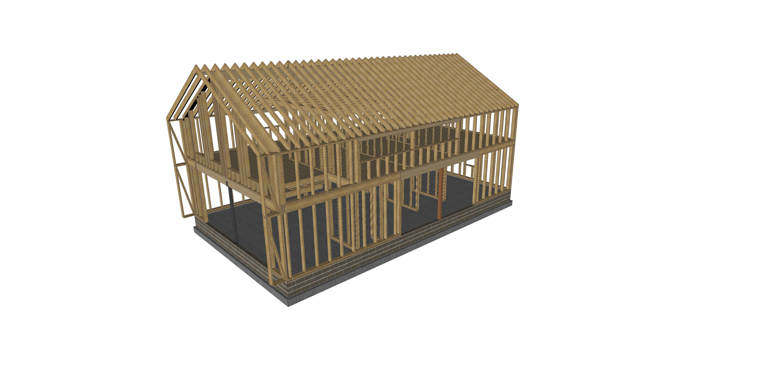 Conception de maison en bois