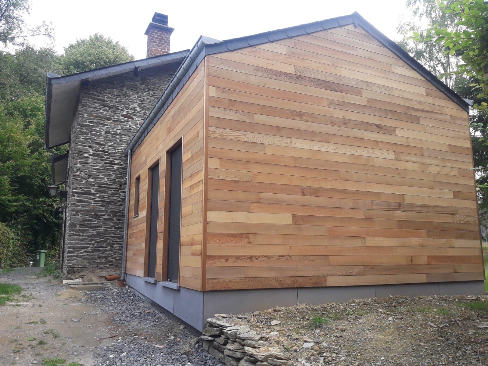 Extension maison à Laforêt