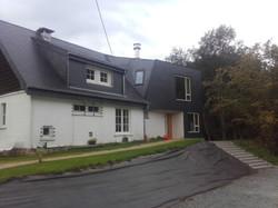 Ossature bois + toiture et bardage