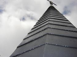 Clocher d'église à Charleroi