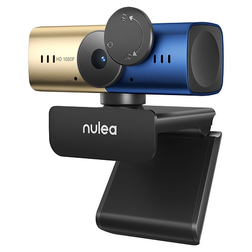 Nulea C905 1080p Webcam with Stereo Microphone