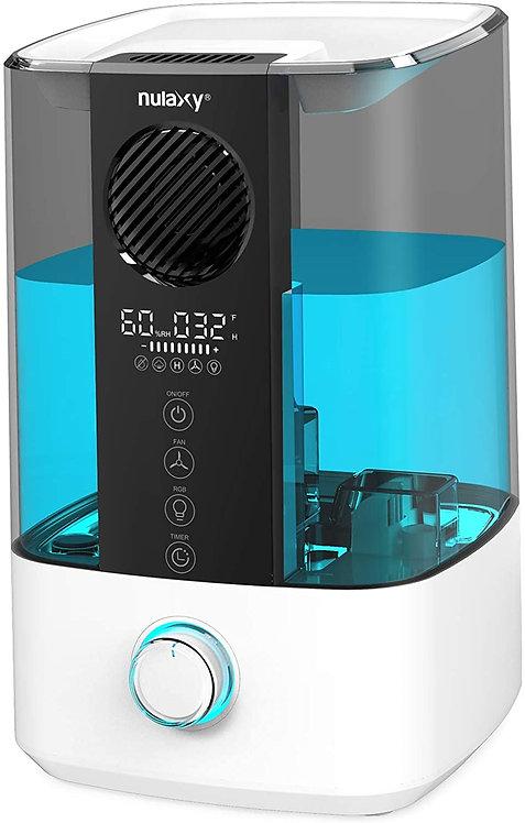 Nulaxy Ultrasonic Mist Humidifier--Blue