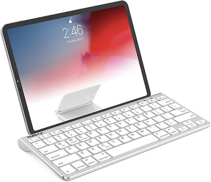 KM13 Bluetooth Keyboard with Sliding Stand