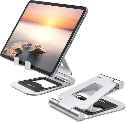 Nulaxy A5 Tablet Stand-Silver