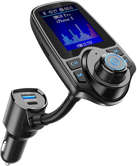 KM18 Pro Bluetooth FM Transmitter