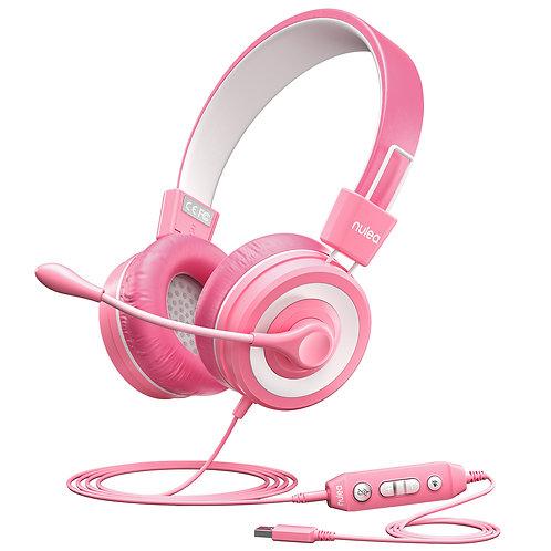 Nulaxy Kids Headphones with Microphone