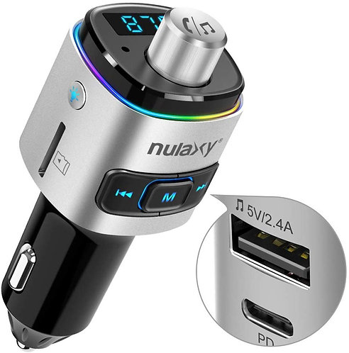 NX09 Type C Bluetooth  FM Transmitter
