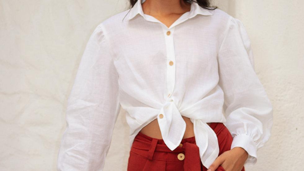 Camisa alfaiataria Oyá