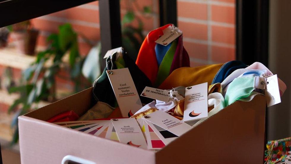 Kit de Análise da Coloração Pessoal