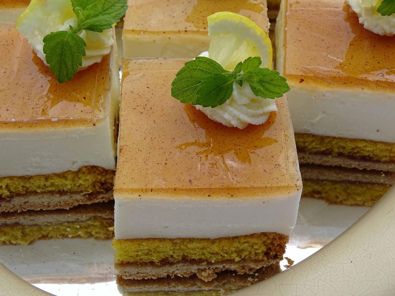 Zitronen - Joghurt Torte