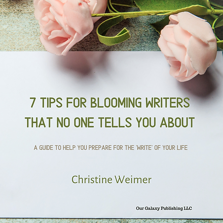 Copy of Seven Tips for Blooming Writers