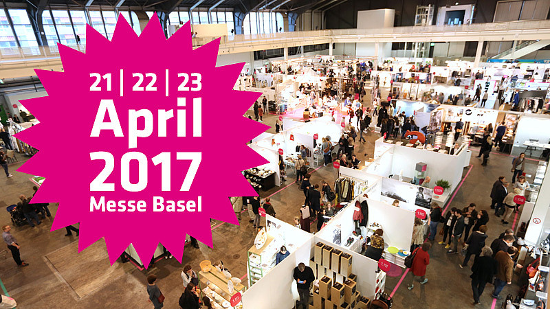 Besucht uns vom 21.-23.April an der Blickfang Designmesse in Basel am Stand Nr. 1.104