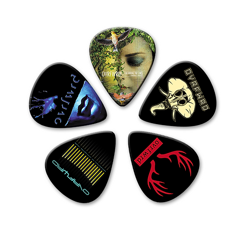 Ovrfwrd Custom Guitar Picks - Collection 1 (Set of 5)