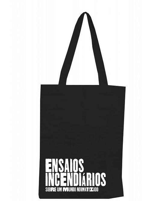 Ecobag do projeto Ensaios incendiários