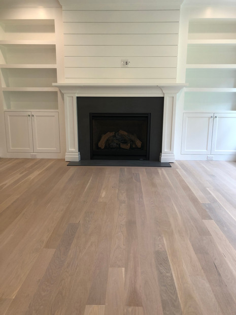 White Oak Hardwood Floor installed by Oldfield Flooring