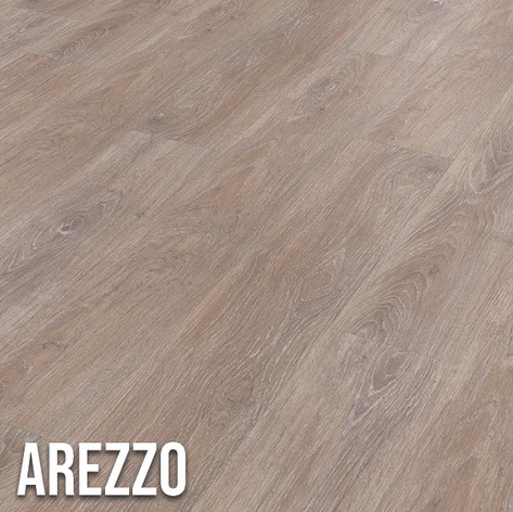 Arezzo offers a unique, unfinished look, showcasing a mid brown finish.  Highlighted by grey and blue overtones, the distressed oak design offers all the visual benefits of real timber without the everyday limitations. 1220 x 179mm (plank)