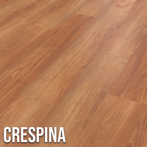 Add warmth to your home with the golden honey tones of Crespina.  Inspired by maple wood and featuring intricate grain details, it's a classic choice with timeless appeal. 1220 x 179mm (plank)