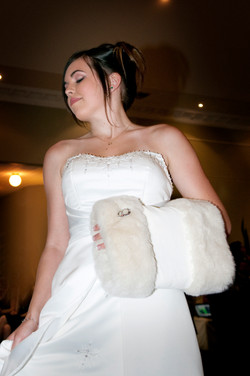 Wedding Model with Muff