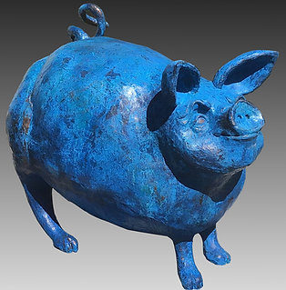 Great Blue Pig