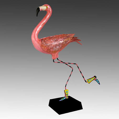 Flamingo on the Lam