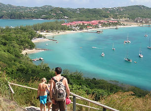 Pigeon-Island-Saint-Lucia-Mountain-View-