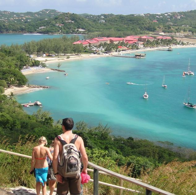 Pigeon-Island-Saint-Lucia-Mountain-View-