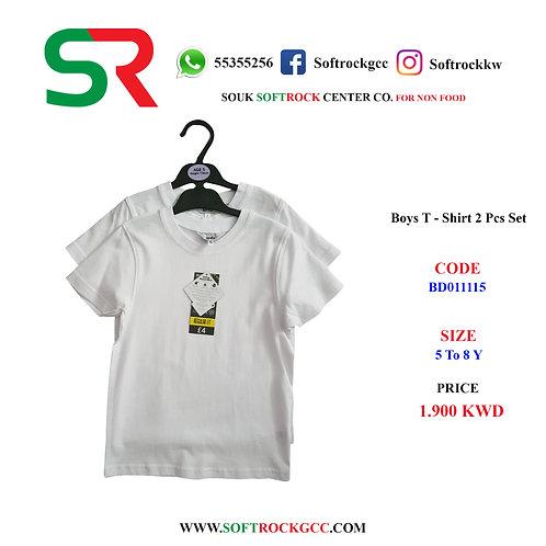BOY'S T - Shirt 2 Pcs Set S/S
