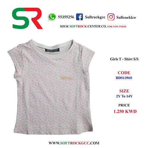 Girl's T - Shirt S/S