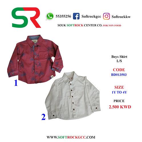 Boy's Shirt L/S