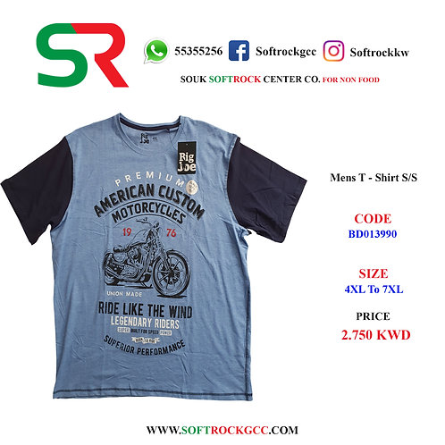 Men's T - Shirt S/S