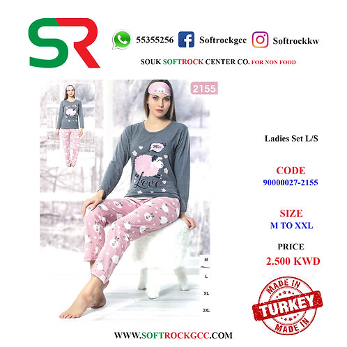 LADIES SET L/S