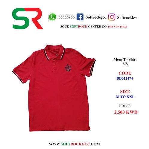 Men's T - Shirt S/S Polo