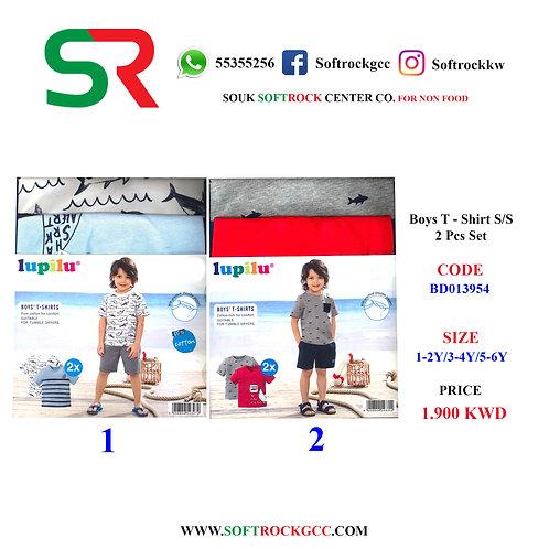 Boys T - Shirt S/S 2 PCS