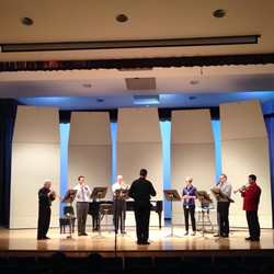 Playing on Rob Frears Faculty Recital