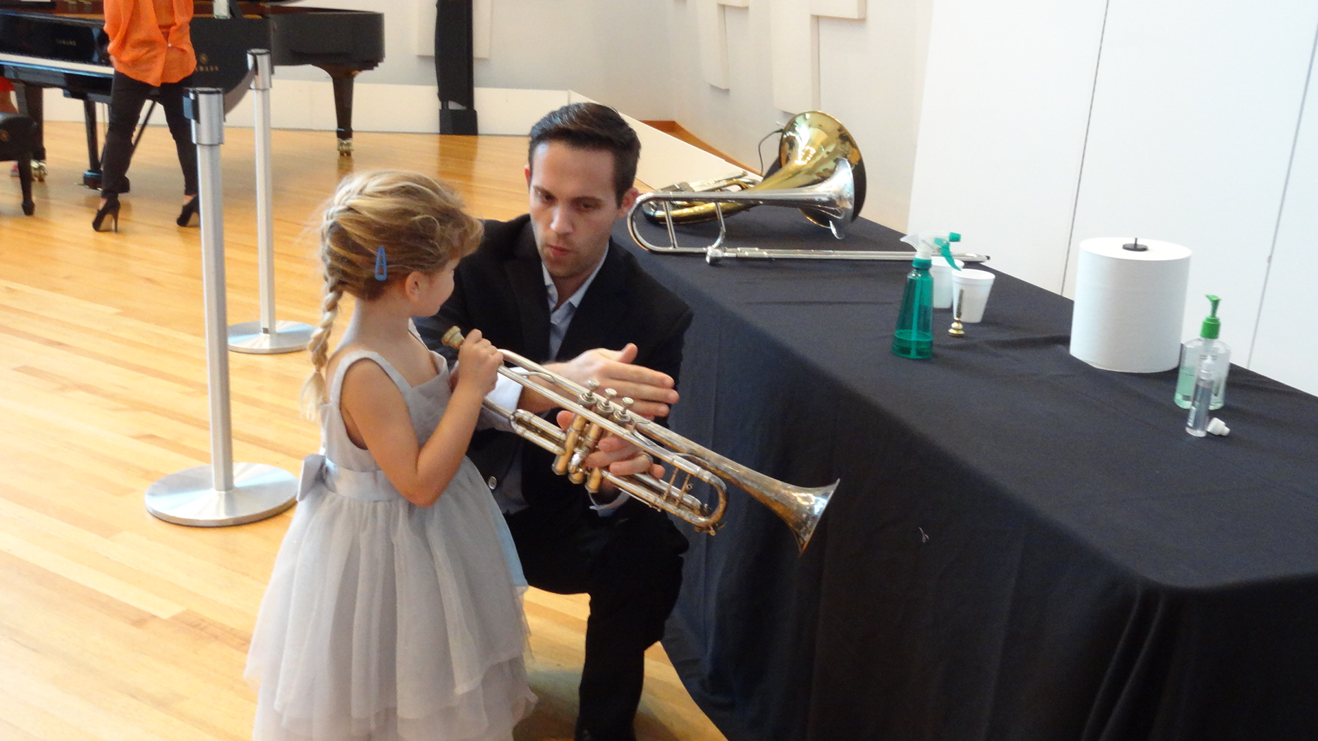 NWS Teaching the next Alison Balsom!