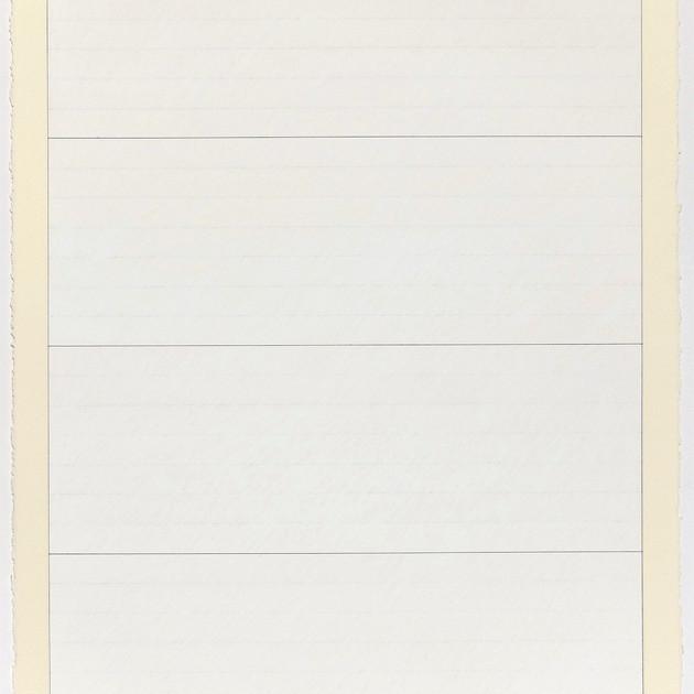 Untitled Oil Pastel (White 02)