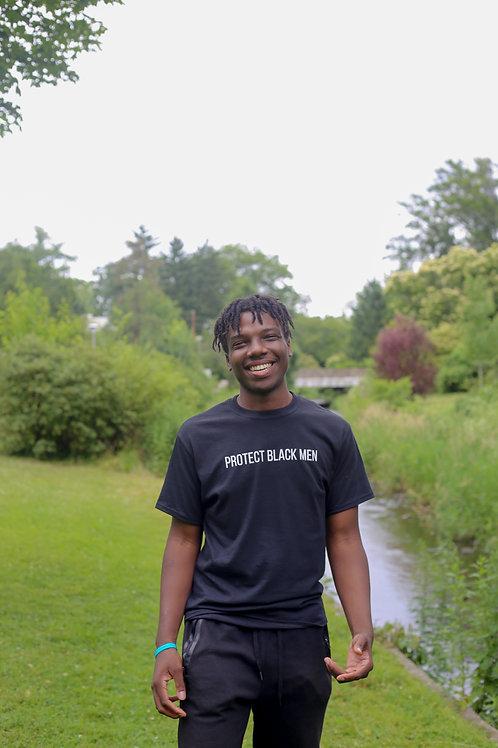 Protect Black Men- Black Tee