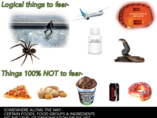 Fears - Logical & the ridiculous..