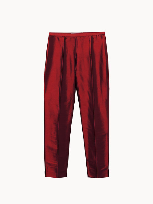 Jackie O Pants Red