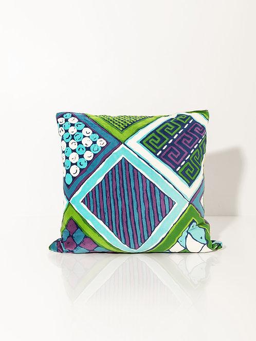 Pillow Velvet Rombi Macro II